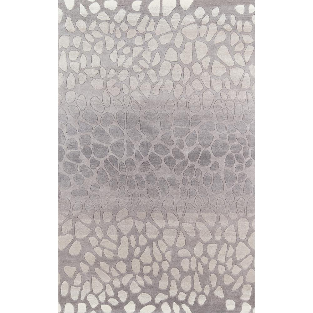 Delhi Silver 5 ft. x 8 ft. Indoor Area Rug