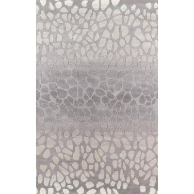 5 X 8 Wool Animal Print Area Rugs Rugs The Home Depot