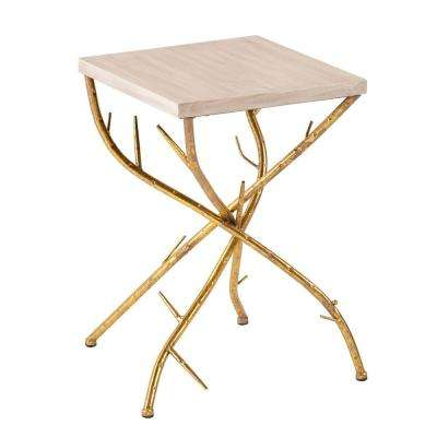 Gulliver Metallic Gold End Table