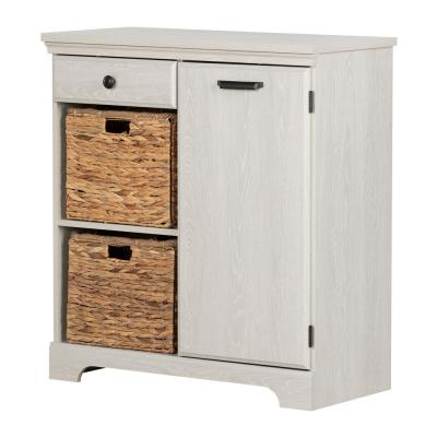 Versa Winter Oak Storage Cabinet