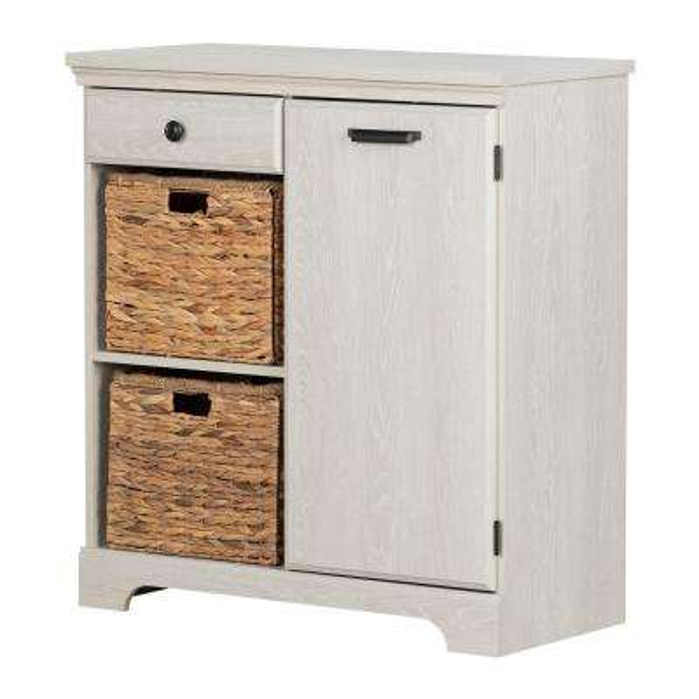 Versa Winter Oak Storage Cabinet