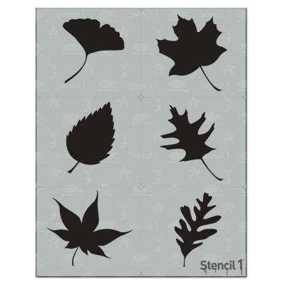 Leaves Silhouette Stencil (6-Pack)
