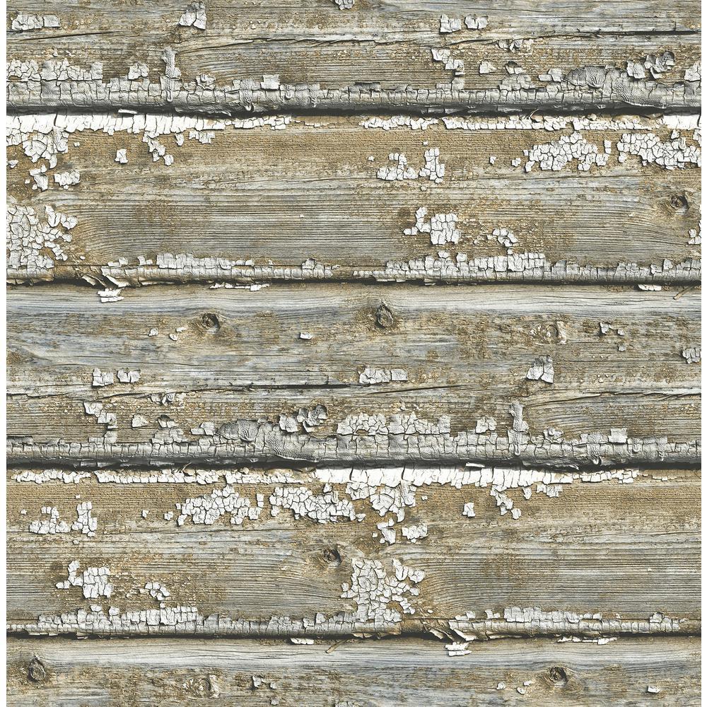 Nuwallpaper Planks Peel And Stick Wallpaper Sample