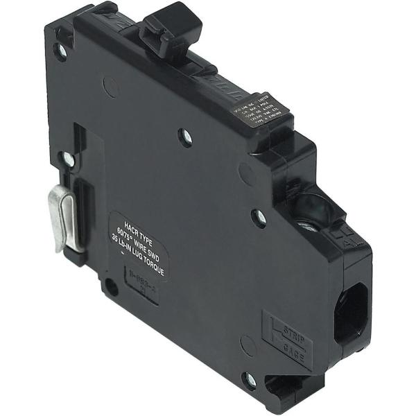 New Challenger 15A 1/2 in. 1-Pole Type A Replacement Left Clip Thin Circuit Breaker