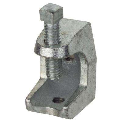 1/2 in. Strut Beam Clamp - Silver (Case of 5)