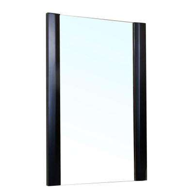 Colchester 32 in. L x 20 in. W Wall Mirror in Black