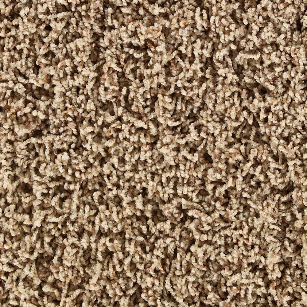 Martha Stewart Living La Paz Fawn Tonal - 6 in. x 9 in. Take Home Carpet Sample