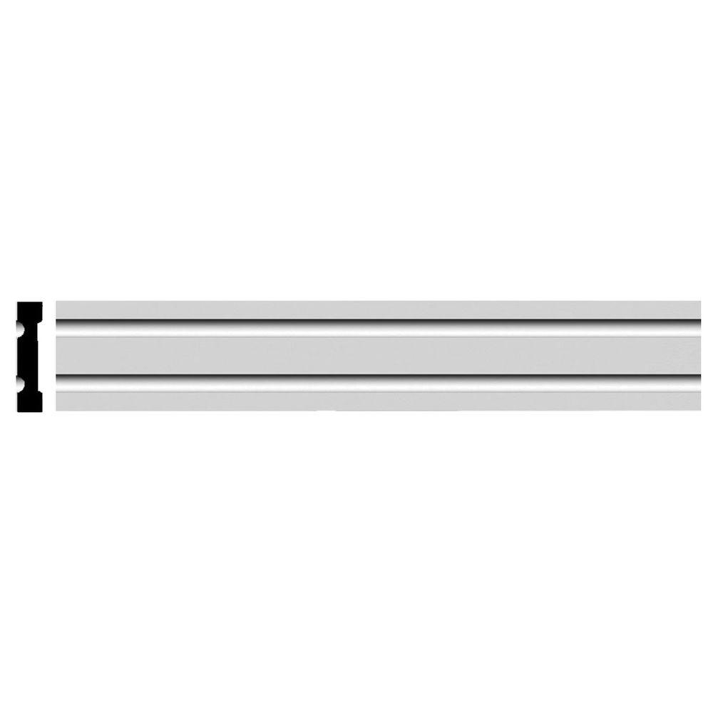 Ekena Millwork 1 In. X 4-3/4 In. X 94-1/2 In. Polyurethane