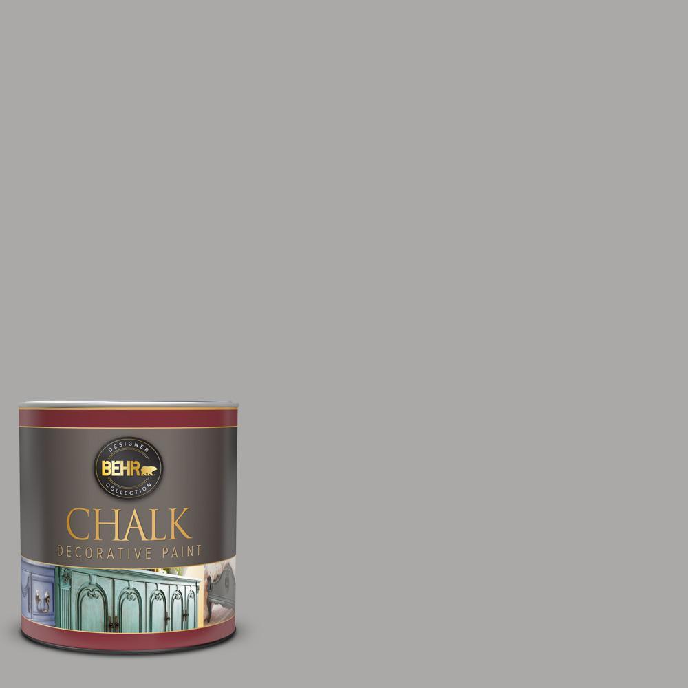 BEHR 1 qt. #PPU18-14 Cathedral Gray Interior Chalk Decorative Paint