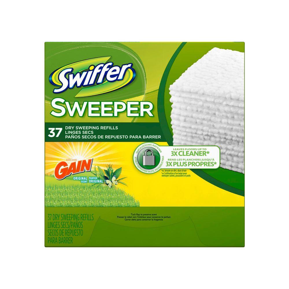 8f155cfbf3f Swiffer Sweeper Wet Cloth Refills with Open Window Fresh Scent (28 ...
