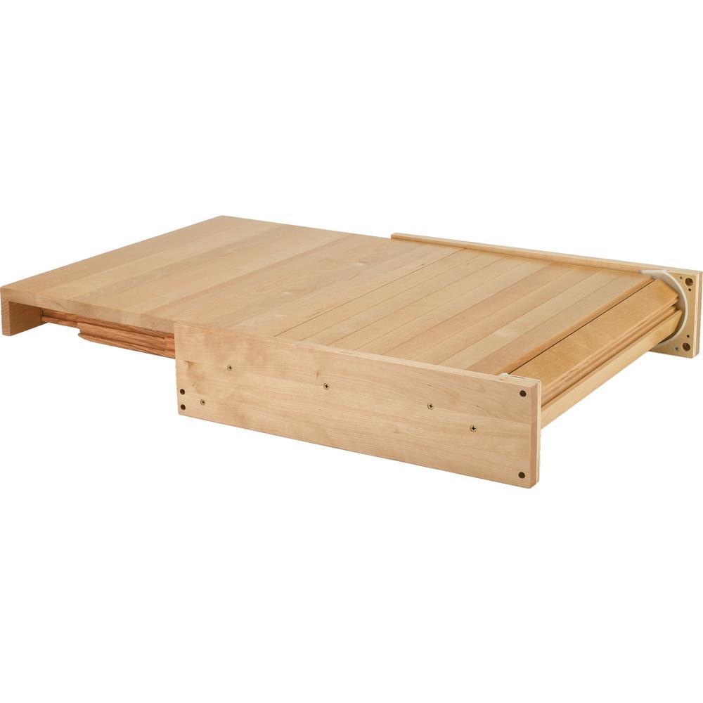 Rev A Shelf 4 25 In H X 22 In W X 19 31 In D Wood Pull