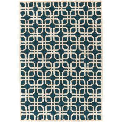 Transit Madison Blue 4 ft. x 6 ft. Indoor Area Rug