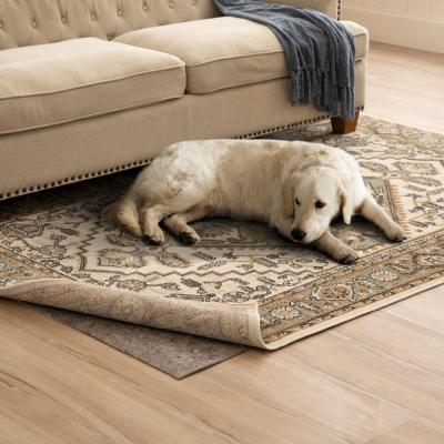 2 ft. x 4 ft. All Pet Grey Felted Reversible Pet Proof Rug Pad