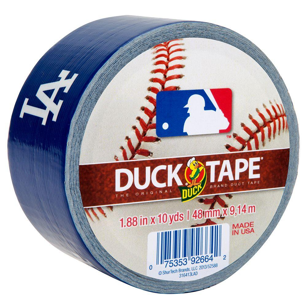 Duck 1.88 in. x 10 yds. Los Angeles Dodgers Duct Tape (6-Pack)