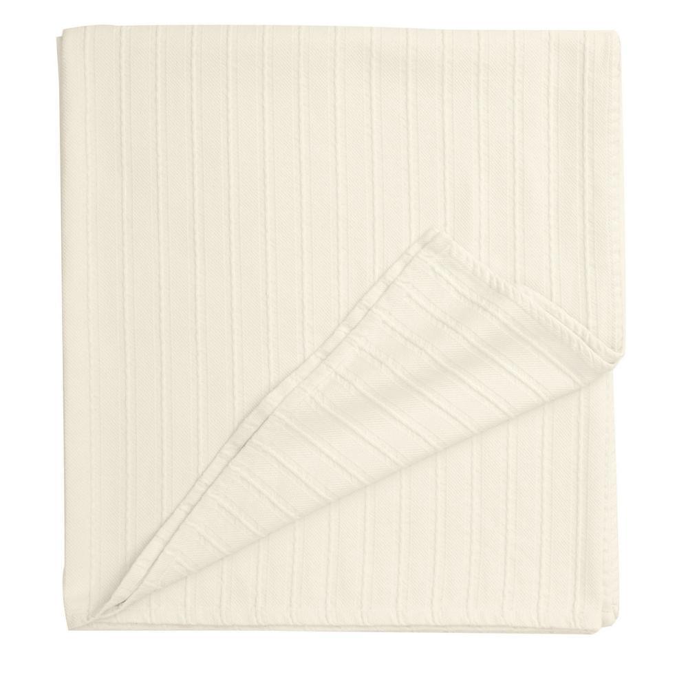 Legends Ivory Egyptian Cotton Queen Blanket