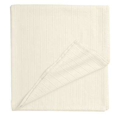 Legends Ivory Egyptian Cotton Twin Blanket