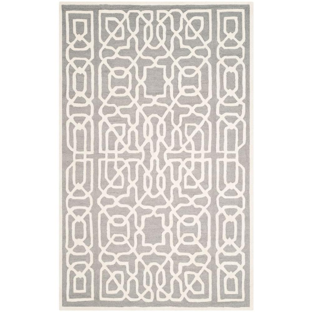 Safavieh Cambridge Silver/Ivory 5 ft. x 8 ft. Area Rug