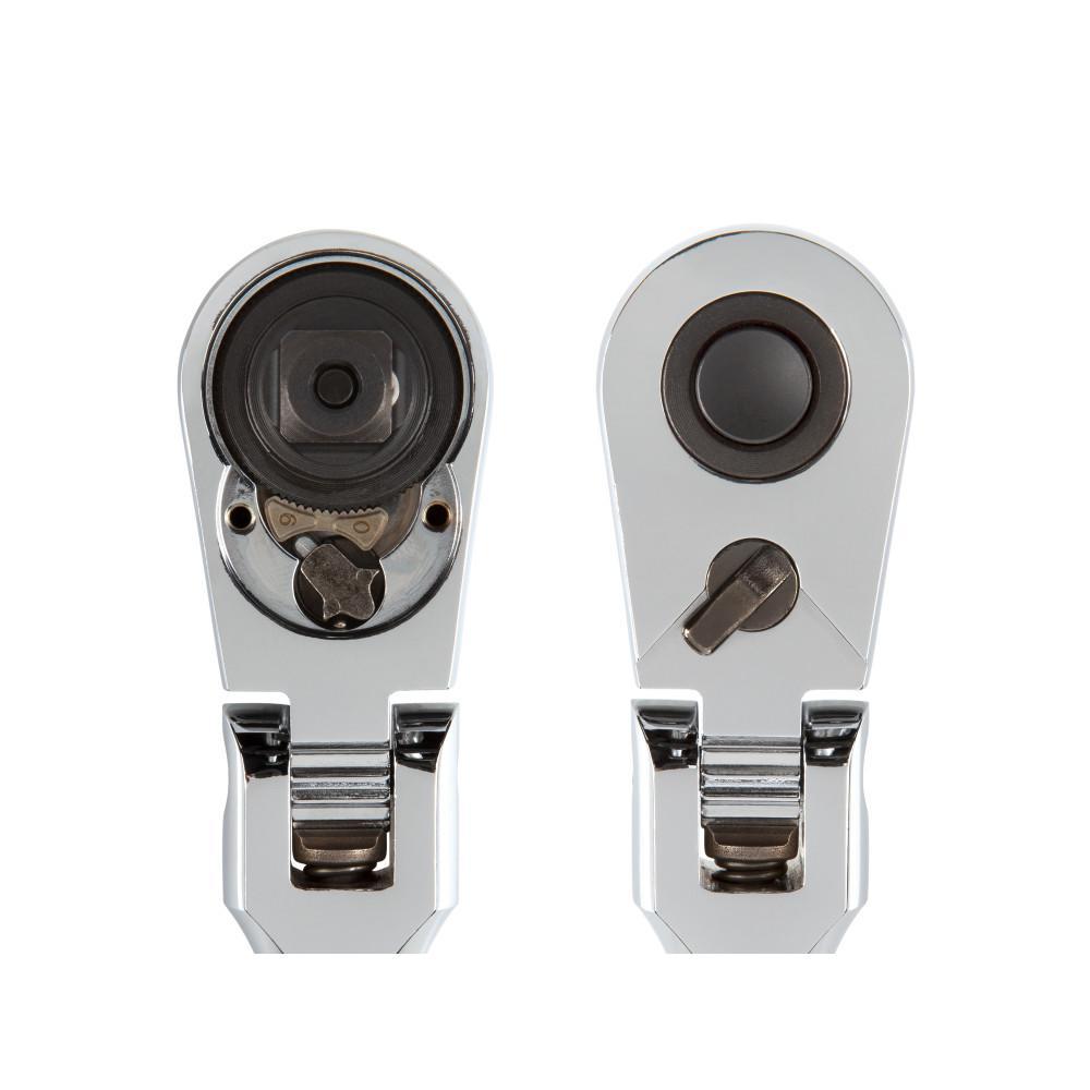 TEKTON 1//2-Inch Drive x 10-1//2-Inch Flex Quick-Release Ratchet SRH31210