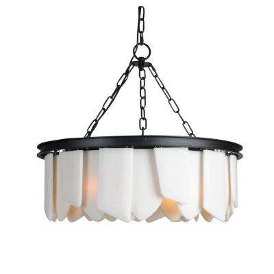 6-Light Black Chandelier