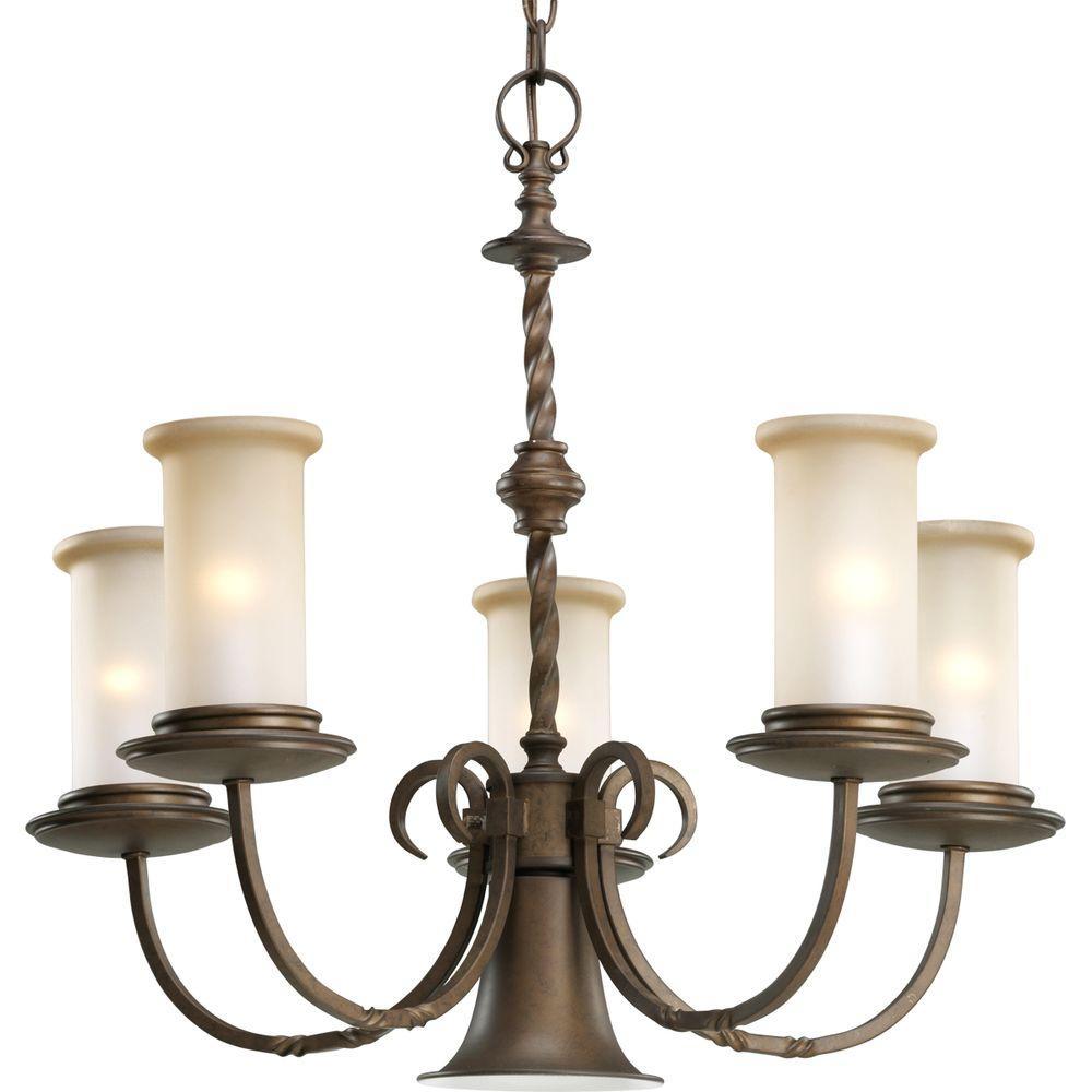 Progress Lighting Santiago Collection 5-Light Chandelier Deals