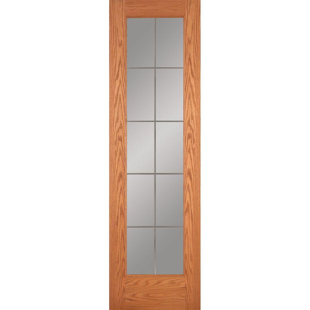 Builder S Choice 24 In X 80 In Hemlock 10 Lite Interior