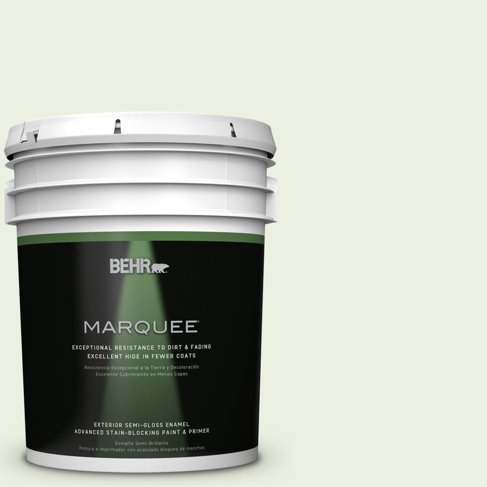 5-gal. #M360-1 Glisten Green Semi-Gloss Enamel Exterior Paint