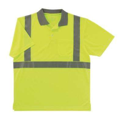 3XL Hi Vis Lime Polo Shirt