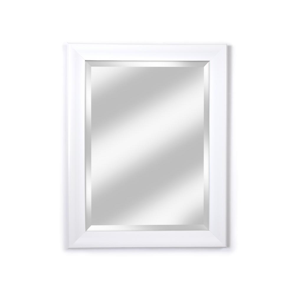 White Mirrors Home Decor The Depot