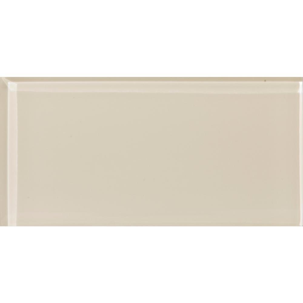 Emser Lucente Cream 3 15 In X 6 46 Gl Wall Tile
