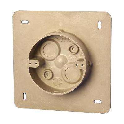4 in. Exterior Fan Support Box with Flange