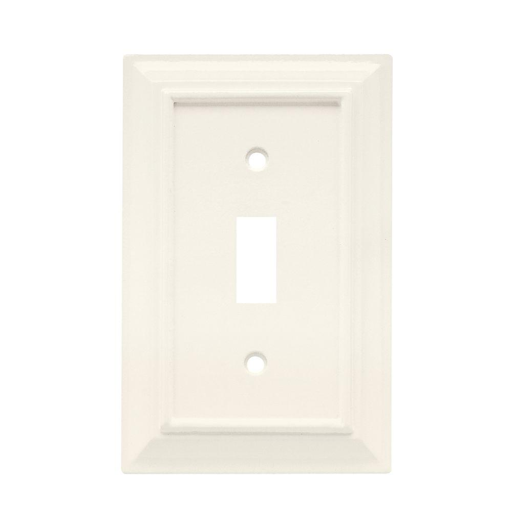 Architectural Wood Decorative Single Switch Plate ...