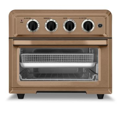1800-Watt 6-Slice Copper Stainless Toaster Oven and Air Fryer