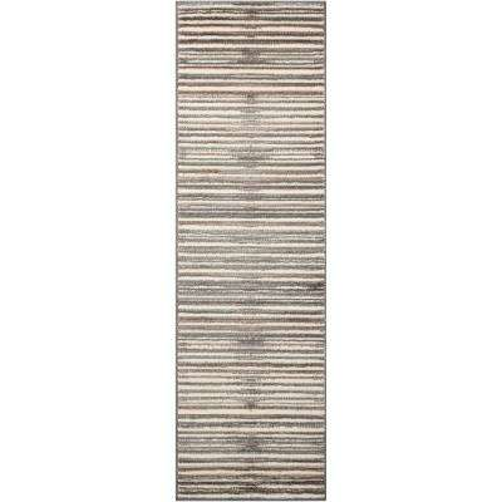 Studio Ivory/Grey 2 ft. x 7 ft. Runner Rug