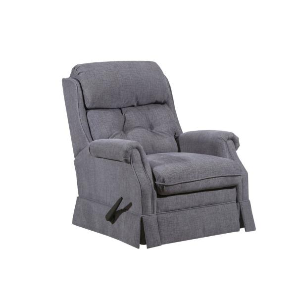 Lane Bennington Gunmetal Gray Rocker Recliner