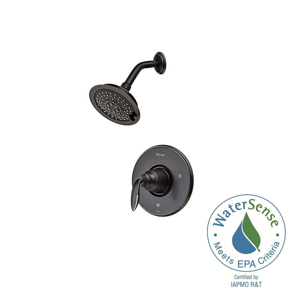 Pfister Avalon Single-Handle Shower Faucet Trim Kit in Tuscan Bronze ...