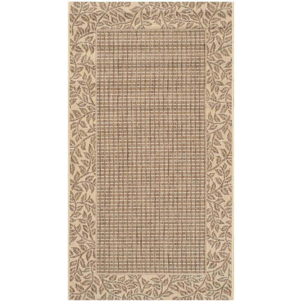 Courtyard Brown/Natural 2 ft. x 3 ft. 7 in. Indoor/Outdoor Area
