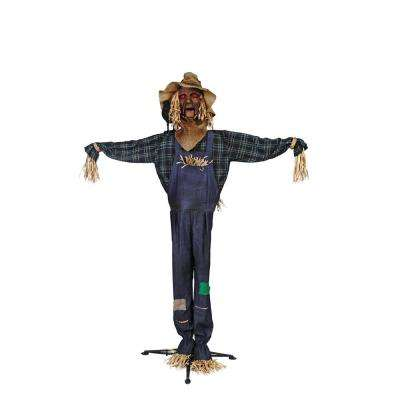 72 in Animated Scarecrow with LED Eyes