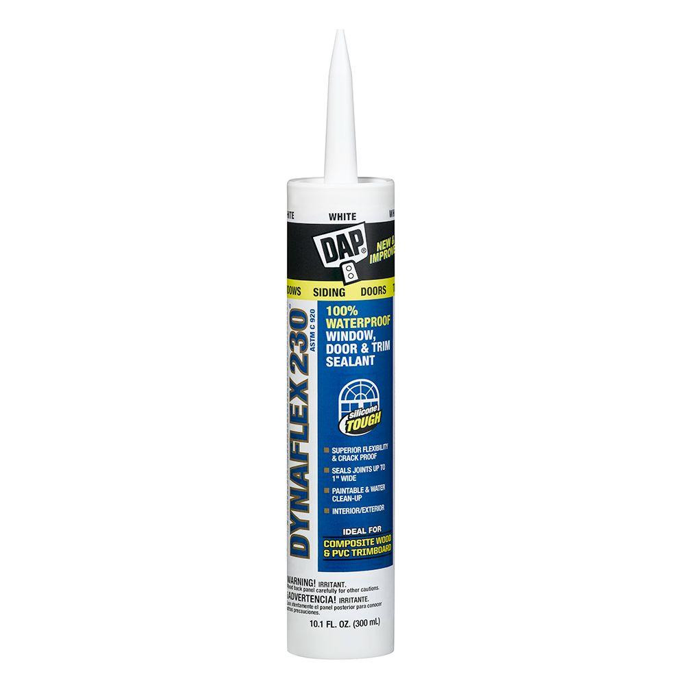 DAP Dynaflex 230 10.1 oz. White Premium Indoor/Outdoor Sealant