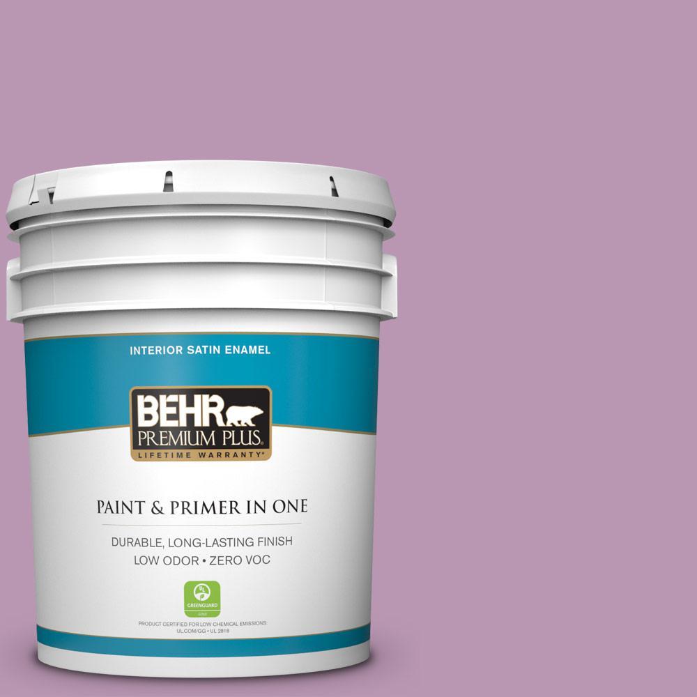 BEHR Premium Plus 5-gal. #M110-4 Cherished Satin Enamel Interior Paint