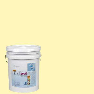 5 gal. Peaceful Glow Yellow Latex Premium Antimicrobial and Anti-Mold Interior Paint