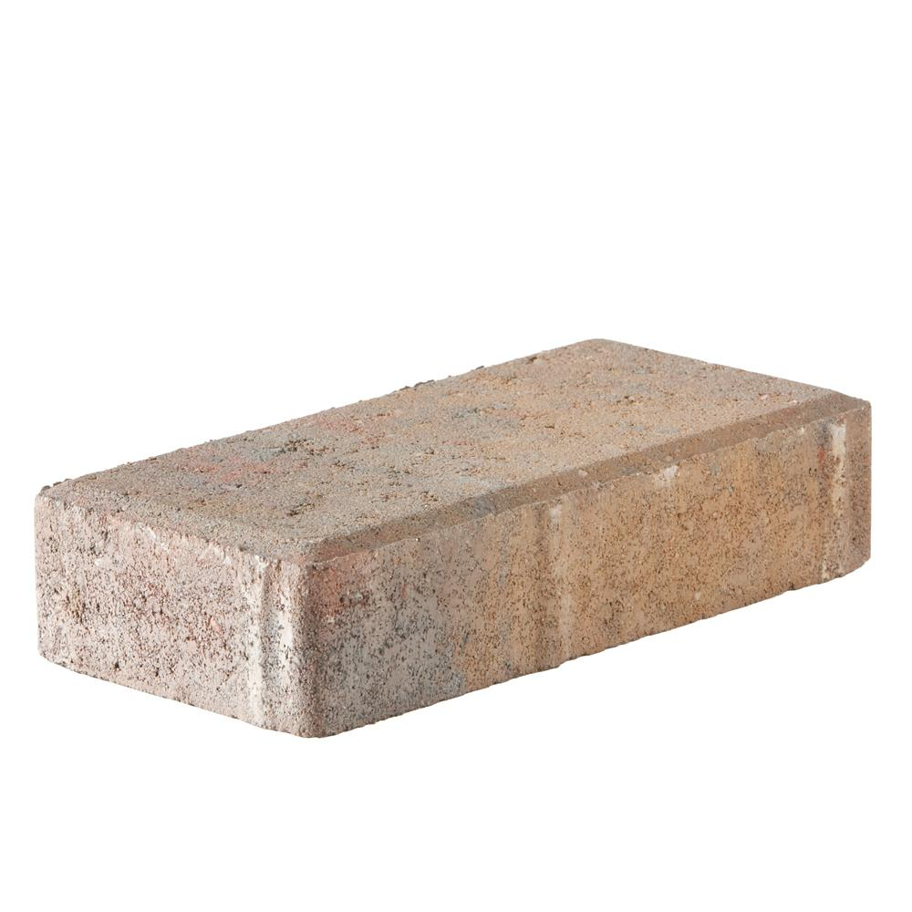 Holland 7.87 in. L x 3.94 in. W x 1.77 in. H 45 mm Fieldstone Blend Concrete Paver (672-Piece/145 sq. ft./Pallet)