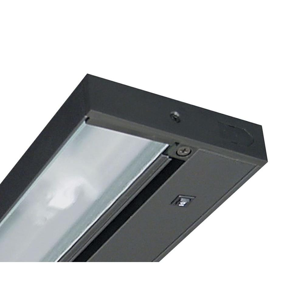 Pro-Series 14 in. Black LED Under Cabinet Light with Dimming Capability