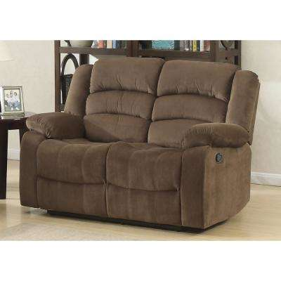 Bill Brown Contemporary Upholstered Loveseat Recliner