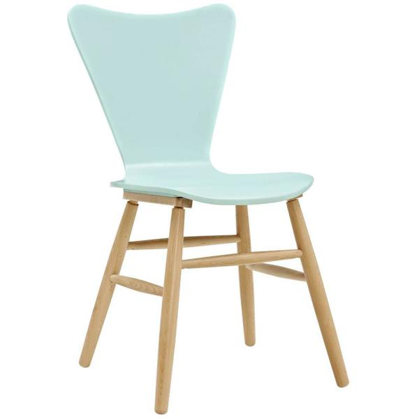 Modway Pyramid Light Blue Dining Side Chair Eei 180 Lbu