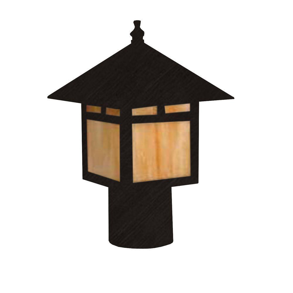 Filament Design Centennial Outdoor LED Black Acid Treated Area Light