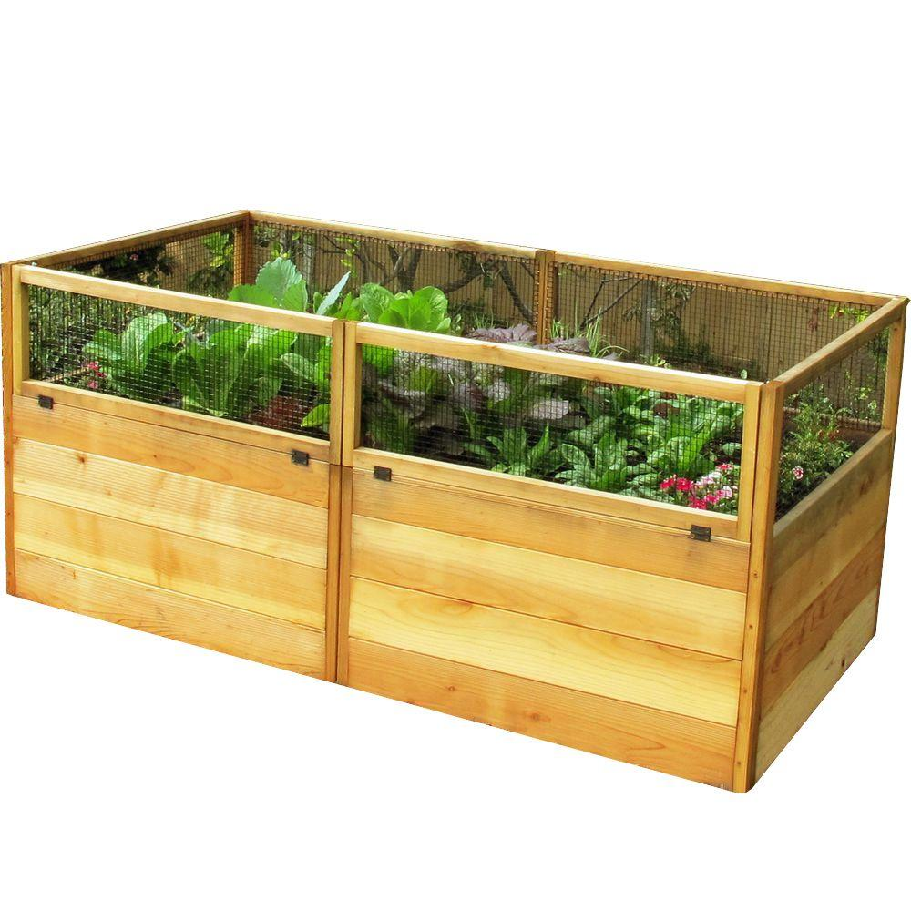 Outdoor Living Today 6 Ft. X 3 Ft. Garden In A Box