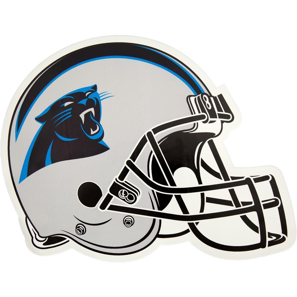 NFL Carolina Panthers Outdoor Helmet Graphic- Large