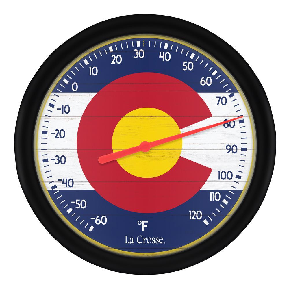 8 in. Dial Thermometer Colorado