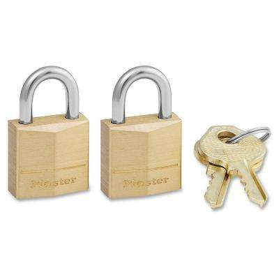 Solid Body Padlock (2-Pack)