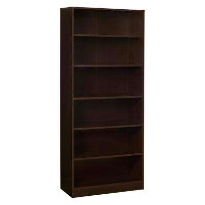 Mod Truffle No-Tools Assembly 71 in. H x 30 in. W Bookcase